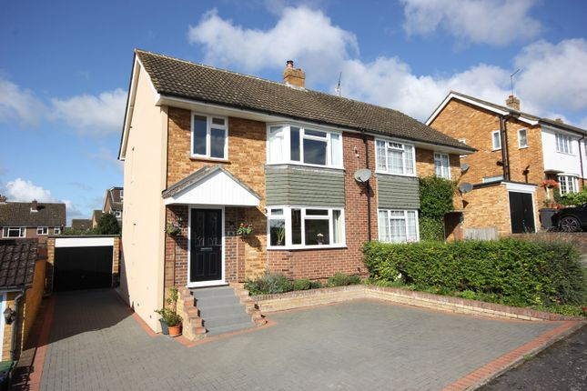 Thumbnail Semi-detached house for sale in Woodland Way, Marlow