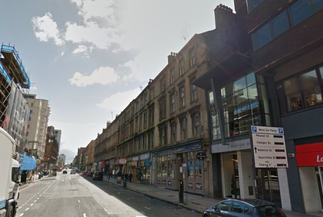 Thumbnail Flat to rent in Sauchiehall Street G2,