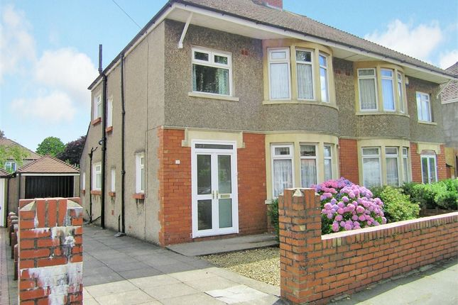 Thumbnail Semi-detached house to rent in St Anthony Road, Heath, Cardiff
