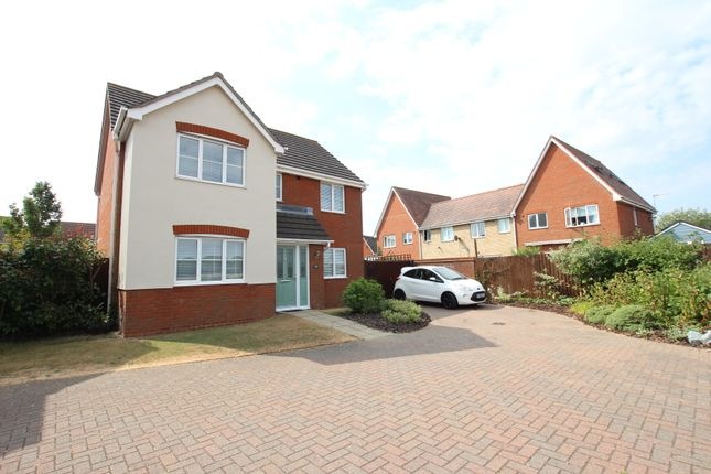 Thumbnail Detached house for sale in Mill Road, Mile End, Colchester, Essex