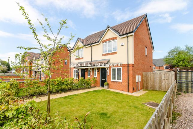 Thumbnail Semi-detached house for sale in Lichfield Road, Walsall Wood