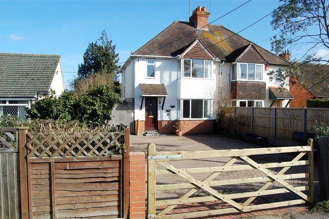 Thumbnail Semi-detached house to rent in Reading Road, Winnersh, Wokingham