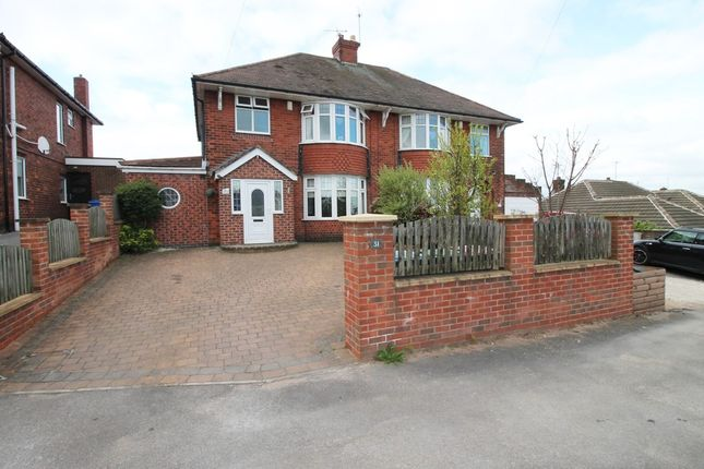 Thumbnail Semi-detached house to rent in Brick Kiln Lane, Mansfield
