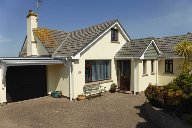 Thumbnail Detached bungalow for sale in Channel View, Mortehoe, Woolacombe