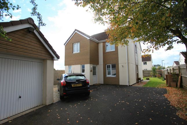 Thumbnail Detached house for sale in Eastfield Way, St Austell, Cornwall