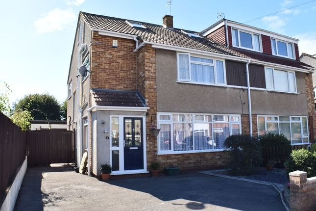 Thumbnail Semi-detached house for sale in Pendock Road, Winterbourne, Bristol