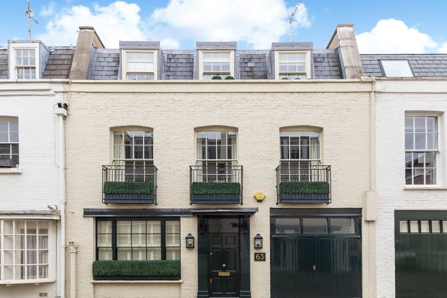 Thumbnail Mews house for sale in Lyall Mews, Belgravia