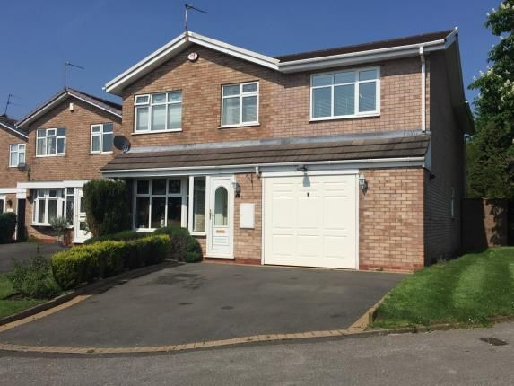 Thumbnail Detached house for sale in Ensbury Close, Willenhall, West Midlands