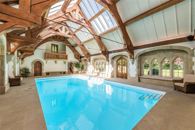 Swimming Pool of Waddington, Clitheroe, Lancashire BB7