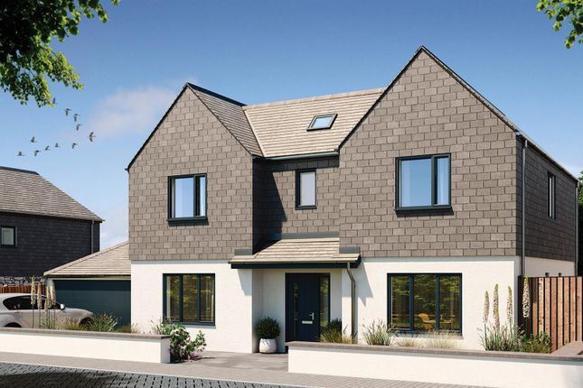 Thumbnail Detached house for sale in Halwyn Road, Crantock, Newquay