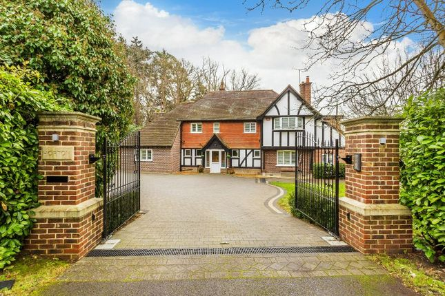 Thumbnail Detached house for sale in Woodlands Close, Ottershaw, Chertsey