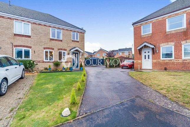 Thumbnail Terraced house to rent in Fir Tree Close, Barwell, Leicester