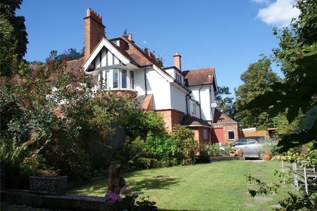 Thumbnail Maisonette for sale in Curzon Road, Weybridge, Surrey