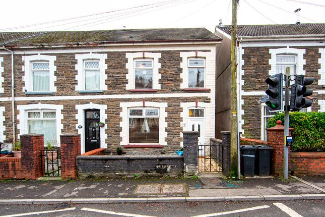 3 bed terraced house for sale in The Avenue, Edwardsville, Treharris CF46