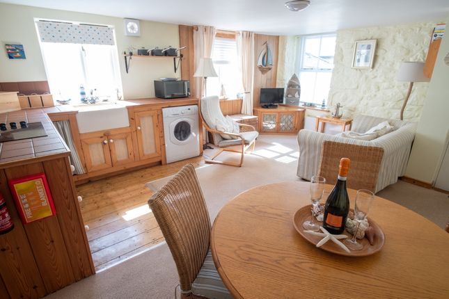 Thumbnail Flat for sale in Abbey Place, Mousehole, Penzance