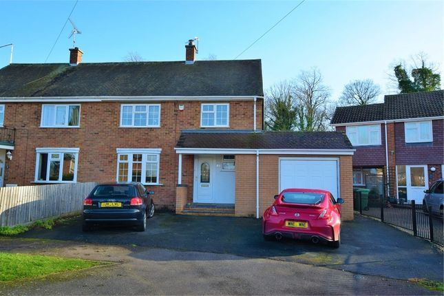 Semi-detached house for sale in Jenkinson Road, Towcester, Northamptonshire