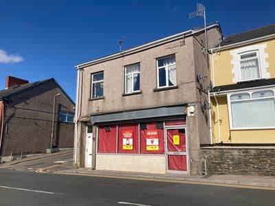 Thumbnail Retail premises for sale in 93 & 93A, Commercial Street, Aerbargoed