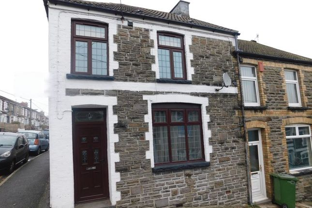 Thumbnail Terraced house for sale in Church Street, Bargoed