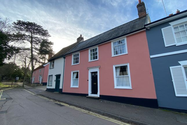 Thumbnail Town house for sale in Crowe Street, Stowmarket