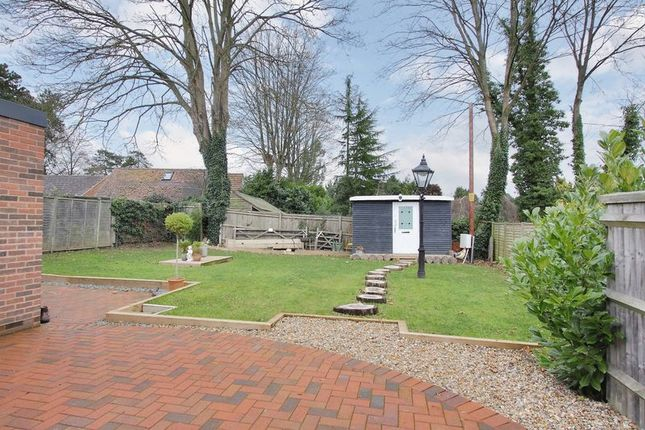 Thumbnail Bungalow for sale in Martins Lodge, Branksome Close, Chilbolton, Nr Stockbridge