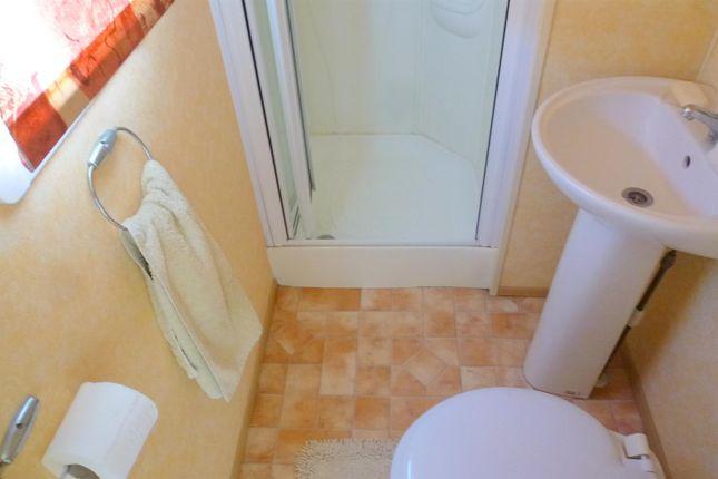 Shower Room of Riverside Caravan Park, Shrpney, Bognor Regis PO22