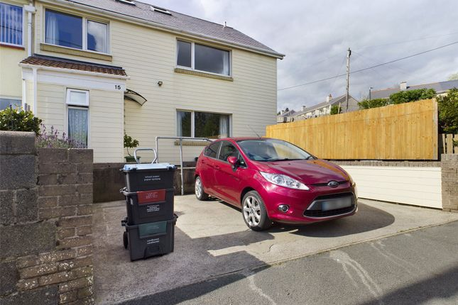 Thumbnail Semi-detached house for sale in Parrot Row, Blaina, Gwent