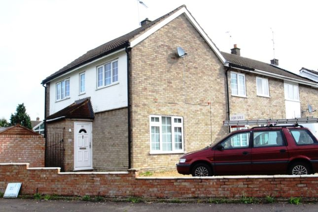 Thumbnail Terraced house to rent in Leaf Road, Houghton Regis, Dunstable