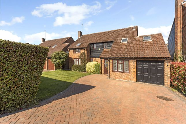 Thumbnail Detached house for sale in Marford Road, Wheathampstead, St. Albans, Hertfordshire