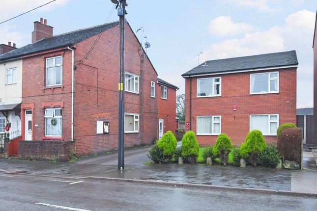 Thumbnail Flat for sale in Uttoxeter Road, Blythe Bridge, Stoke-On-Trent