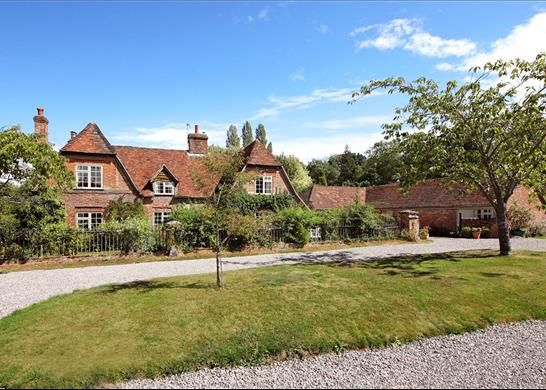 Thumbnail Detached house for sale in North Sydmonton, Newbury, Hampshire