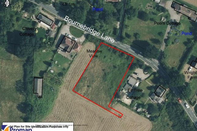 Thumbnail Land for sale in Land Adjacent To Meadow View, Bournebridge Lane, Stapleford Abbotts, Essex