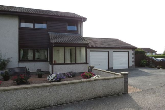 Thumbnail Semi-detached house for sale in Braeface Park, Alness