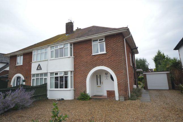 Thumbnail Semi-detached house for sale in Fifers Lane, Hellesdon, Norwich, Norfolk