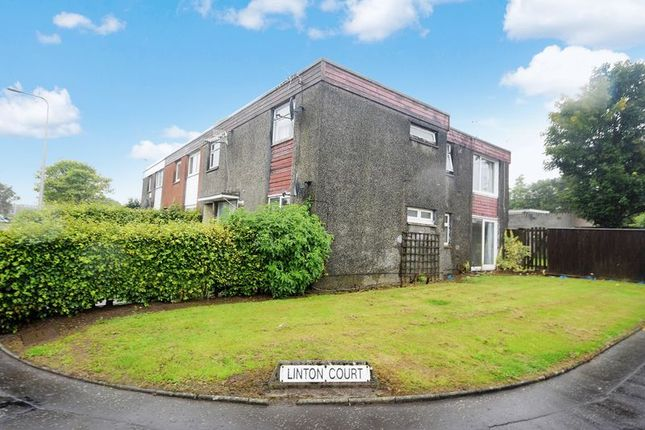 Thumbnail Flat for sale in Linton Court, Macedonia, Glenrothes