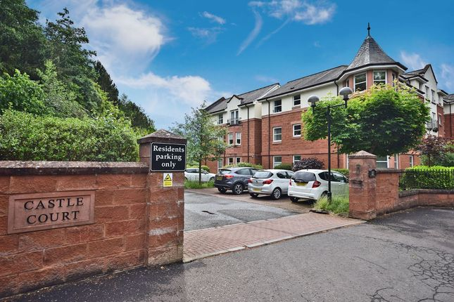 Thumbnail Flat for sale in Castle Court, Blantyre Road, Bothwell