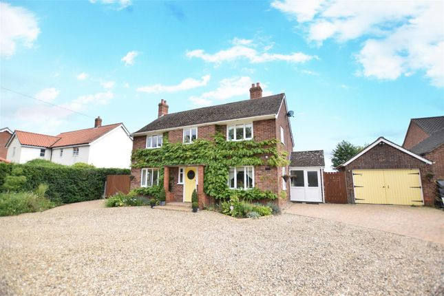 Thumbnail Detached house for sale in Long Stratton, Norwich