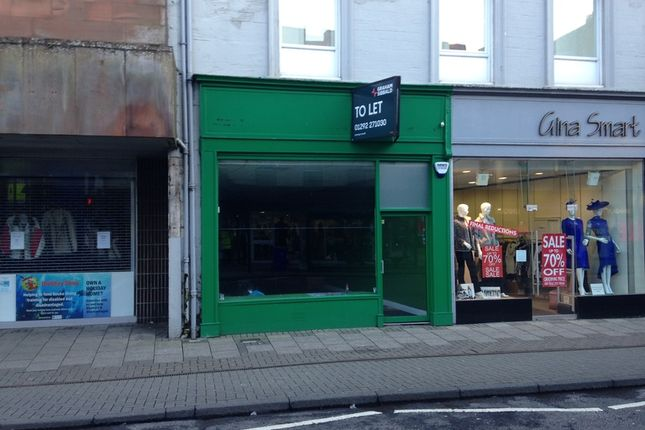 Thumbnail Retail premises to let in Alloway Street, Ayr