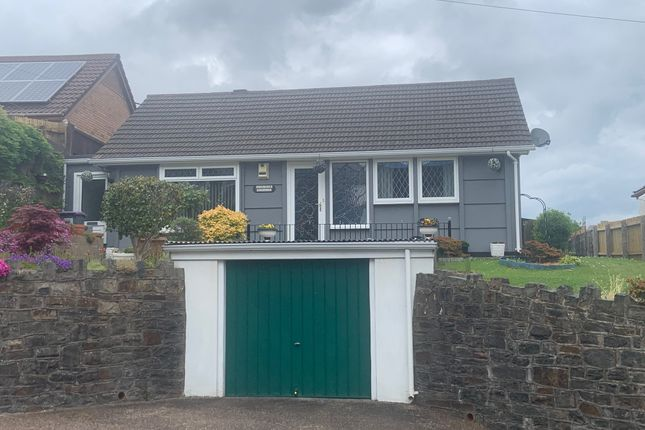 Thumbnail Detached bungalow for sale in Tranch Road, Tranch, Pontypool