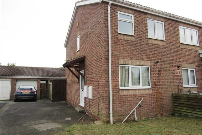 Thumbnail Town house to rent in Proctors Way, Hibbaldstow, Brigg