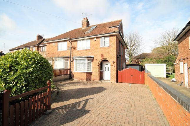 Thumbnail Semi-detached house for sale in Millfield Avenue, York, North Yorkshire