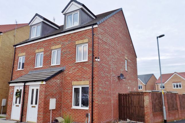 3 bed semi-detached house for sale in Oval View, Scholars Rise, Middlesbrough