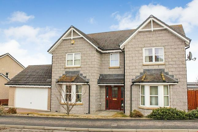 Thumbnail Detached house for sale in Strone Crescent, Alford, Aberdeenshire