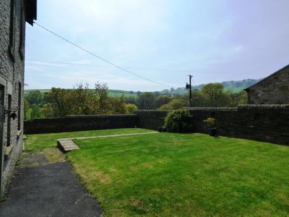 Rear Garden of Diglee Road, Furness Vale, High Peak, Derbyshire SK23