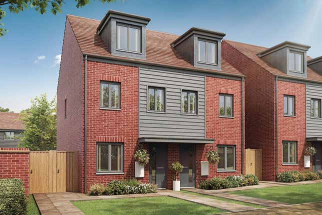 """Thumbnail Semi-detached house for sale in """"The Souter"""" at Eclipse, Sittingbourne Road, Maidstone"""
