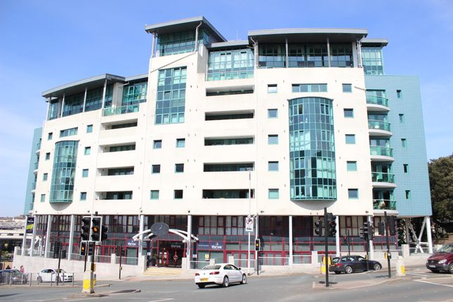 Thumbnail Flat to rent in The Crescent, The Hoe, Plymouth