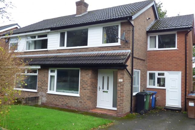 Thumbnail Semi-detached house for sale in Woodville Drive, Marple, Stockport