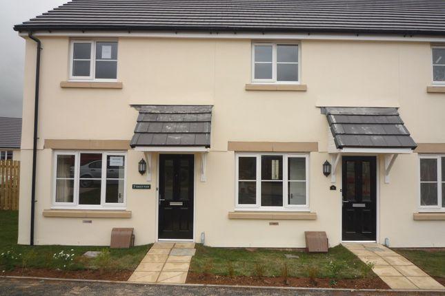 Thumbnail Terraced house to rent in Haye Common Drive, Launceston