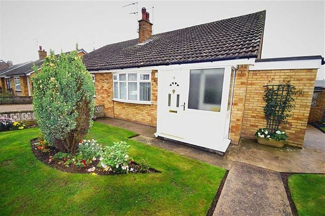 Thumbnail Semi-detached bungalow for sale in Ridgestone Avenue, Bilton, Hull