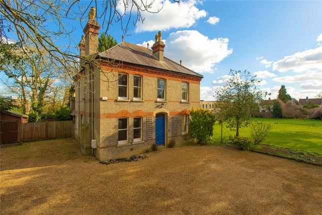 Thumbnail Detached house for sale in Gazeley Road, Trumpington, Cambridge