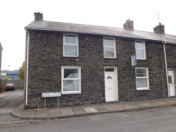 Thumbnail End terrace house for sale in Railway Place, Porthmadog, Gwynedd